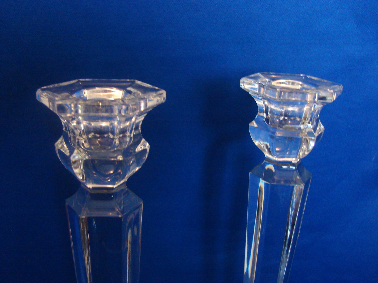 Elegant Mikasa Traditional Style Crystal Taper Holders image 3