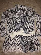INC International Concepts  Sweater cardigan Metallic PL wool polyester - $38.60