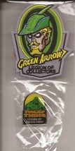 DC Funko Legion Of Collectors Exclusive Green Arrow Patch & Swamp Thing Pin - $11.95