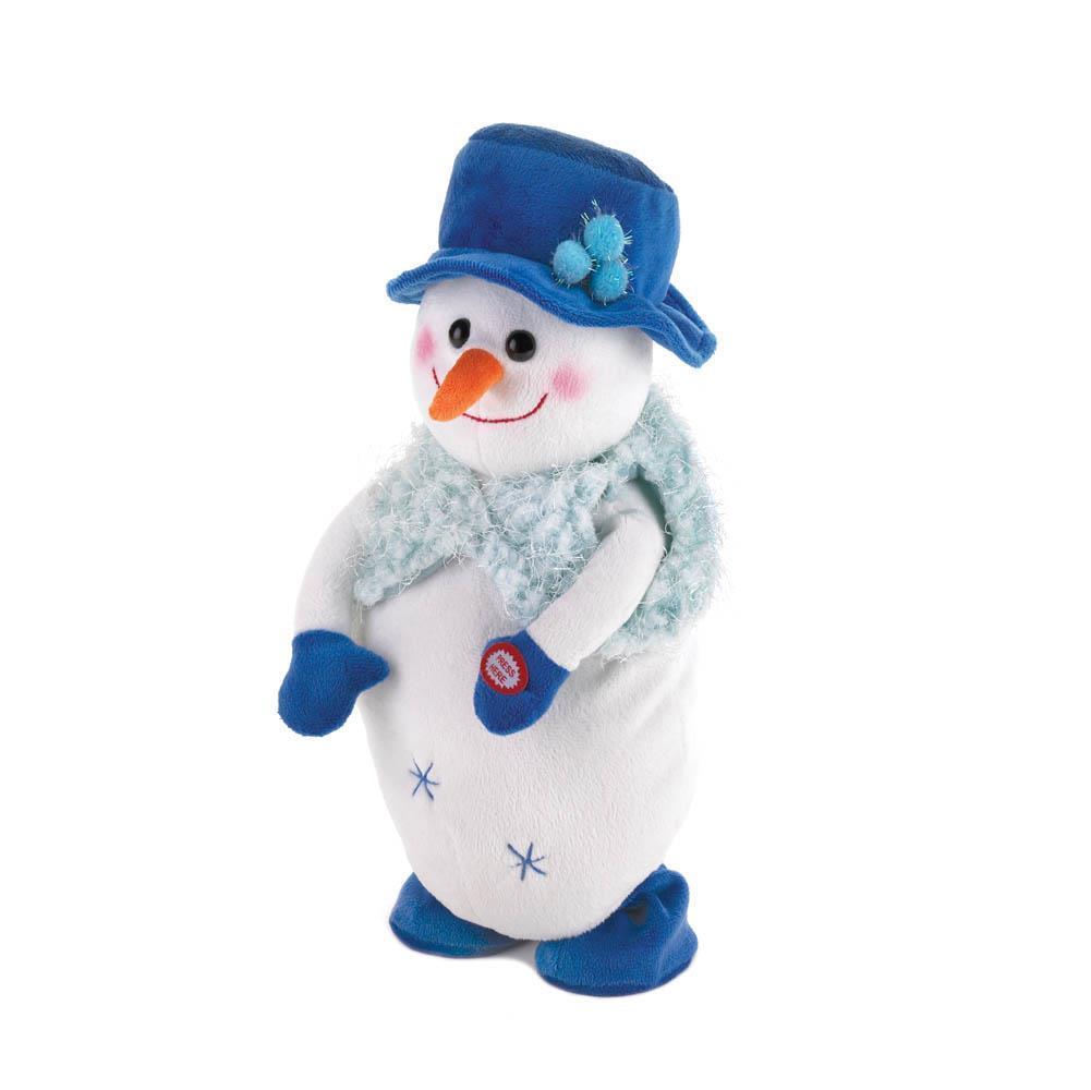 Dancing snowboy plush