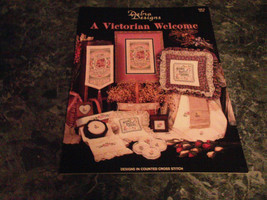 A Victorian Welcome Debra Designs Home Sweet Home needle craft - $2.99