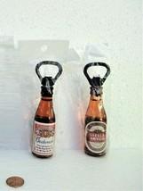 Magnetic Beer Bottle Shaped Opener Budweiser, Stella Artois - $12.99