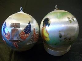 Two American Legion Christmas Ornaments 1976 Pa... - $12.19