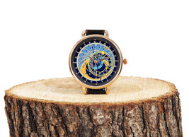 Prague Astronomical Clock,Wrist Watch,Prague Souvenir,Women Watch,Travel... - $49.00