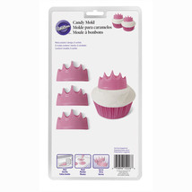 Wilton Crown Candy Mold Princess Prince 1 design 6 cavities - ₨543.32 INR