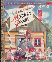 The Little Golden Mother Goose Little Golden Book #472 5th Print Rojanko... - $12.02