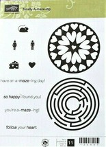 Stampin' Up! Totally A-maze-ing Stamp Set #125507 - $12.55