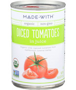 Made With Tomatoes Diced Org 14.5 Oz (Pack of 12) - $44.95