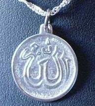 0528 Silver Muslim Islam Allah Pendant Charm Jewelry - $17.26