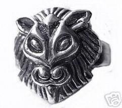 Sekhmet Goddess Lioness Sun Egypt Sterling Silver ring - $44.04