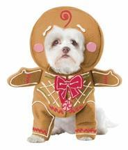 California Costume Collections Gingerbread Pup Dog Costume, Medium - $18.81