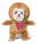 California Costume Collections Gingerbread Pup Dog Costume, Medium - $18.81