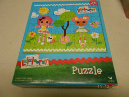 NEW SEALED LaLaloopsy SEW MAGICAL SEW CUTE 24 PC PUZZLE VALENTINE EASTER... - $6.44
