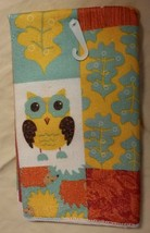 KITCHEN POTHOLDERS MITT TOWEL SET 4-pc Harvest Owl design NEW image 3