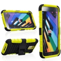 Heavy Duty Tough Shockproof Stand Case Cover For Samsung Galaxy S5 i9600 Tzjy - $5.89