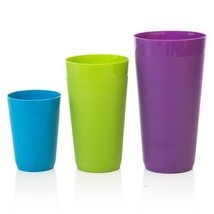 12pc Unbreakable Plastic Cup Drinking Cup Tumbl... - $21.62