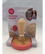 Rosanna Pansino Nerdy Nummies Cookie Stamp by Wilton Pink Wood--FREE SHI... - $5.00
