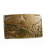 1776 - 1976 American Eagle Belt Buckle Marked US 72514 - $44.99