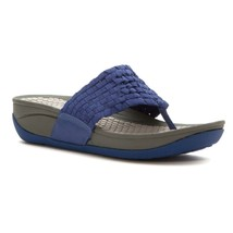 Bare Traps Womens Denna Sandals Blue Indigo 7.5 M - $47.24