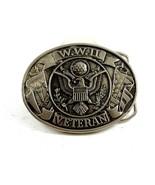 W.W. II Veteran Belt Buckle 11042013 - $22.49