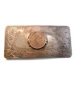 Vintage Large Handmade Mexican Peso 1958 Belt B... - $202.49