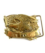 American Eagle Monogrammed Don Taylor Belt Buckle by Baron 62614 - $24.99
