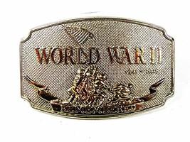 1992 World War II Remembered Belt Buckle By D.I.I.  81716 - $14.99