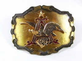 1977-81 Anheiser Busch Eagle Beer Belt Buckle By RAINTREE Made In USA 52316 - $29.99