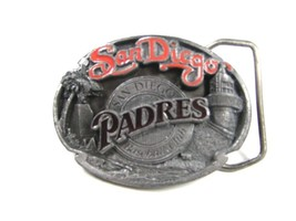 1989 San Diego Padres Officially Licensed Belt Buckle by Siskiyou 102315 - $22.49