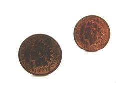 1901 & 1902 Indian Head Penny Cufflinks - $22.49