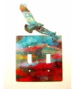 American Eagle Double Light Switch Cover Plate by Steel Images USA 030315NN - $34.99