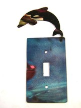 Porpoise / Dolphin Single Switch Cover Plate by Steel Images 42715 - $27.99