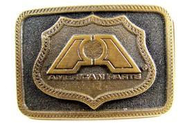 1976 American Parts Brass Belt Buckle by Adezy - $24.99