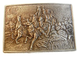 Vintage Stage Coach Western Cowboy Belt Buckle - $19.99