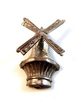 Vintage Sterling Silver Windmill Brooch by Lang - $34.99