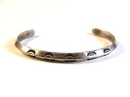 Hand Hammered Sterling Silver Cuff Bracelet - $64.99