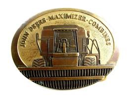 1989 John Deere Maximier Combine Belt Buckle 4102014 - $44.99