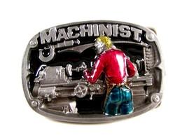 1986 Machinist Belt Buckle 5714 by Great American Buckle Co. - $24.99