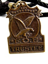 Vintage F.O.E. Trustee Fraternal Order of Eagles Watch Fob - $54.99