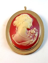 1886 - 1996 100th Anniversary Conference Cameo Brooch by Avon - $74.99