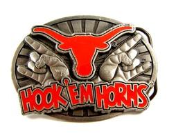 Hook 'em Horns Belt Buckle by Great American Buckle Co. 6914 - $9.99