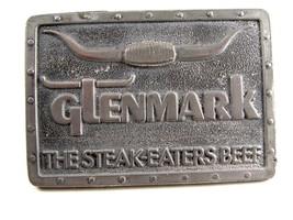 1977 Glenmark The Steak Eaters Beef Belt Buckle - $24.99