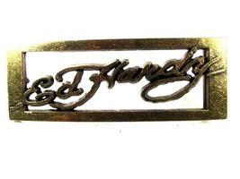 Silvertone Belt Buckle By Ed Hardy 33116DDD - $54.99