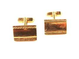 1950's Gold Tone Cufflinks by SWANK 12215a - $22.49