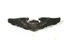 WWII Army Air Corps Sterling Silver Pilots Wings By LGB 7715 - $124.99