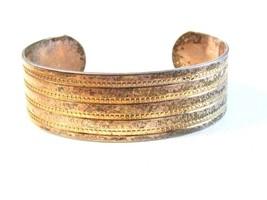 Vintage Tribal Sterling Silver Cuff Bracelet - $84.99