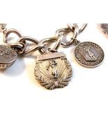 Vintage SPWGA Sterling Silver Golf Charms & Bracelet - $444.99