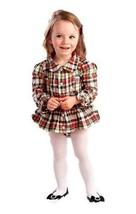 Baby Clothing Mud Pie Tartan all in one Dress 6 - 9 Mths - $31.63