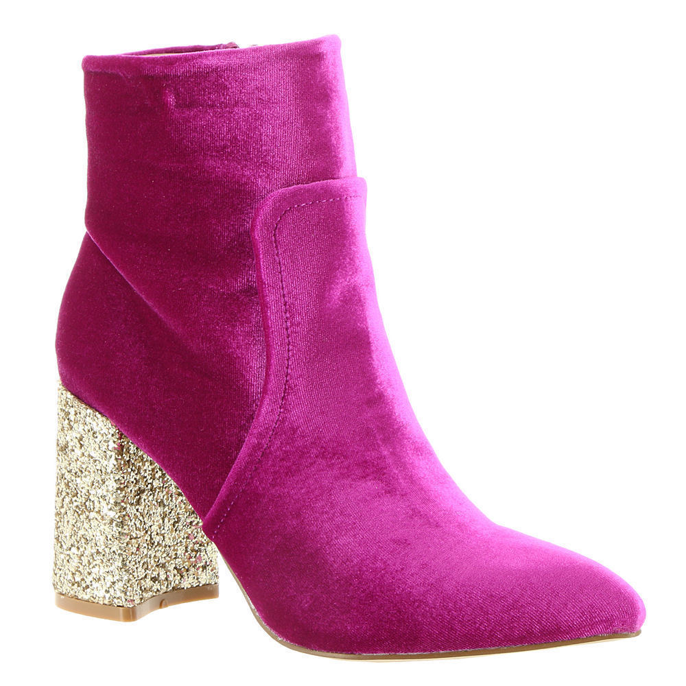 0f7eda48fe64 Betsey Johnson Kacey Pink Velvet Glitter and 42 similar items. 57