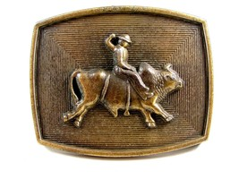 Western Cowboy Rodeo Bull Rider Belt Buckle - $22.49